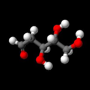 D-deoxyribose_chain-3D-balls